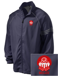 Belize Soccer Embroidered adidas Men's ClimaProof Jacket