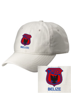 Belize Soccer  Embroidered New Era Adjustable Unstructured Cap