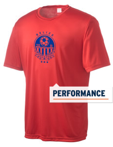 Belize Soccer Men's Competitor Performance T-Shirt
