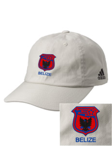 Belize Soccer Embroidered adidas Relaxed Cresting Cap