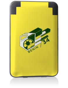 Benin Soccer Kindle Keyboard 3G Skin