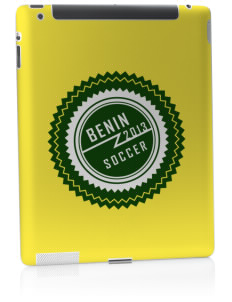Benin Soccer Apple iPad 2 Skin