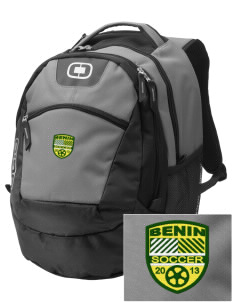 Benin Soccer Embroidered OGIO Rogue Backpack