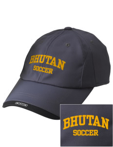 Bhutan Soccer Embroidered OGIO X-Over Cap