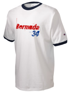 Bermuda Soccer Champion Men's Ringer T-Shirt