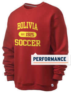 Bolivia Soccer  Russell Men's Dri-Power Crewneck Sweatshirt