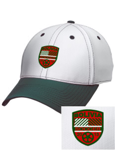Bolivia Soccer Embroidered New Era Snapback Performance Mesh Contrast Bill Cap