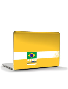 "Brazil Soccer Apple MacBook Pro 17"" & PowerBook 17"" Skin"