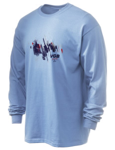 British Virgin Islands Soccer 6.1 oz Ultra Cotton Long-Sleeve T-Shirt
