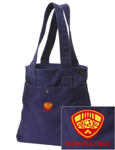 Burkina Faso Soccer Embroidered Alternative The Berkeley Tote