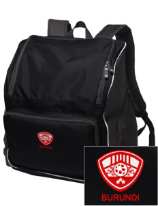 Burundi Soccer Embroidered Holloway Backpack