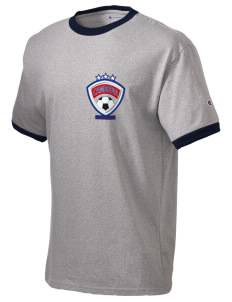 Cambodia Soccer Champion Men's Ringer T-Shirt