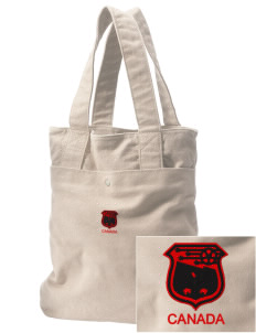 Canada Soccer Embroidered Alternative The Berkeley Tote