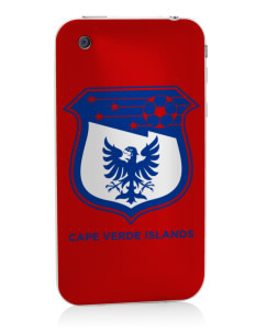 Cape Verde Islands Soccer Apple iPhone 3G/ 3GS Skin