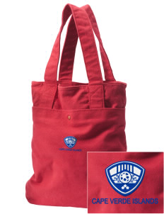 Cape Verde Islands Soccer Embroidered Alternative The Berkeley Tote