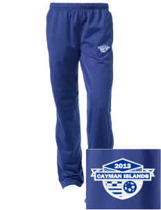 Cayman Islands Soccer Embroidered Women's Tricot Track Pants
