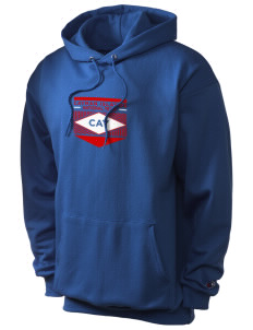 Cayman Islands Soccer Champion Men's Hooded Sweatshirt