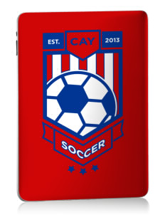 Cayman Islands Soccer Apple iPad Skin