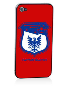 Cayman Islands Soccer Apple iPhone 4/4S Skin