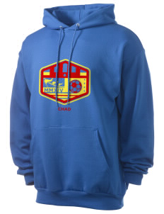 Chad Soccer Men's 7.8 oz Lightweight Hooded Sweatshirt