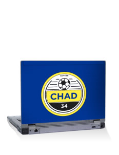 "Chad Soccer 15"" Laptop Skin"
