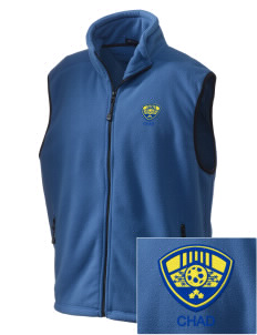Chad Soccer Embroidered Unisex Wintercept Fleece Vest