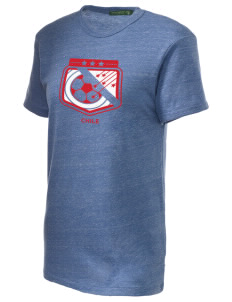Chile Soccer Alternative Unisex Eco Heather T-Shirt