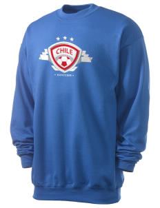 Chile Soccer Men's 7.8 oz Lightweight Crewneck Sweatshirt