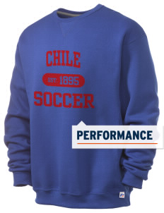 Chile Soccer  Russell Men's Dri-Power Crewneck Sweatshirt