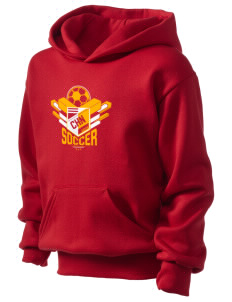 China Soccer Kid's Hooded Sweatshirt