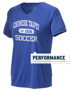 Chinese Taipei Soccer Holloway Women's Zoom Performance T-Shirt