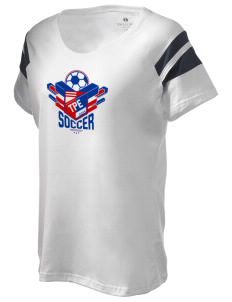 Chinese Taipei Soccer Holloway Women's Shout Bi-Color T-Shirt