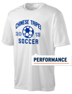Chinese Taipei Soccer Men's Competitor Performance T-Shirt