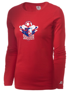 Chinese Taipei Soccer  Russell Women's Long Sleeve Campus T-Shirt