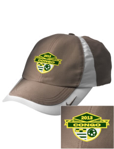 Congo Soccer Embroidered Nike Golf Colorblock Cap