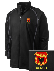 Congo Soccer Embroidered Men's Nike Golf Full Zip Wind Jacket