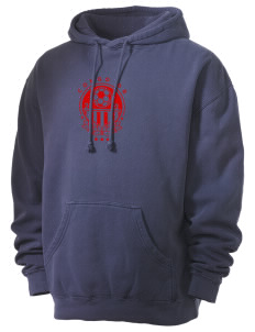 Congo DR Soccer Men's 80/20 Pigment Dyed Hooded Sweatshirt