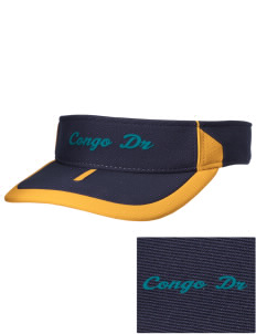 Congo DR Soccer Embroidered M2 Sideline Adjustable Visor