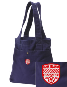 Cook Islands Soccer Embroidered Alternative The Berkeley Tote