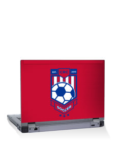 "Costa Rica Soccer 14"" Laptop Skin"