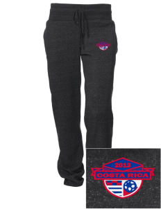 Costa Rica Soccer Embroidered Alternative Women's Unisex 6.4 oz. Costanza Gym Pant
