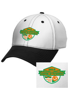 Cote d'Ivoire Soccer Embroidered New Era Snapback Performance Mesh Contrast Bill Cap