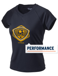 Cyprus Soccer Champion Women's Wicking T-Shirt