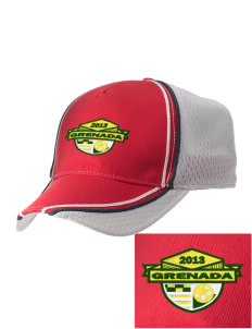 Grenada Soccer  Embroidered Champion Athletic Cap