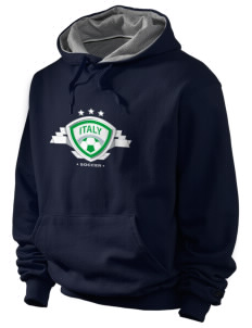 Italy Soccer Champion Men's Hooded Sweatshirt