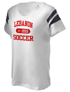 Lebanon Soccer Holloway Women's Shout Bi-Color T-Shirt