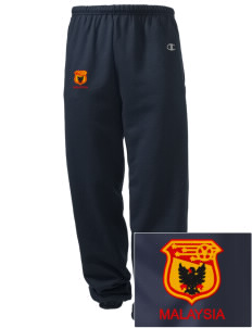 Malaysia Soccer Embroidered Champion Men's Sweatpants