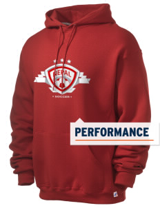 Nepal Soccer Russell Men's Dri-Power Hooded Sweatshirt