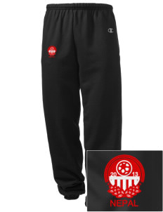 Nepal Soccer Embroidered Champion Men's Sweatpants