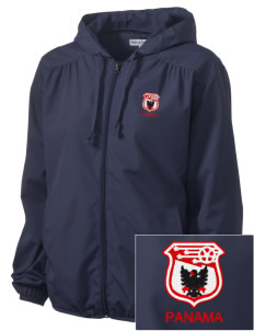 Panama Soccer Embroidered Women's Hooded Essential Jacket